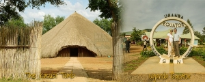 Uganda equator and Kasubi tombs