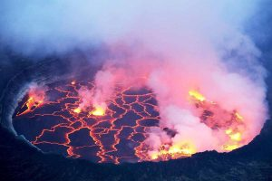 Congo Safaris Tours - 2 Days Nyiragongo Volcano Hiking Safari